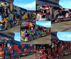 Camouflage Trailer Skin Pack
