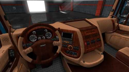 DAF XF 105 Leather Interior 1.32