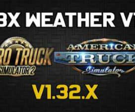 JBX Weather for ATS – ETS2 v1.1