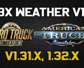 JBX Weather for ATS – ETS2 v1.2