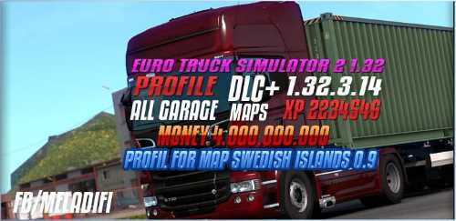 Profil For Map Swedish Islands v0.9