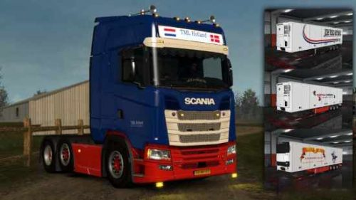 Scania S Next Gen TML Holland Transport 1.32