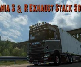 Scania S & R Exhaust Stack Sound v1.0 1.32