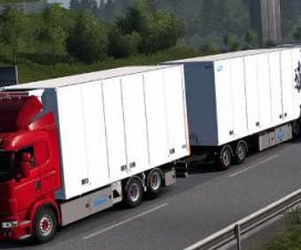 Tandem addon for RJL Scania rs&r4 by Kast