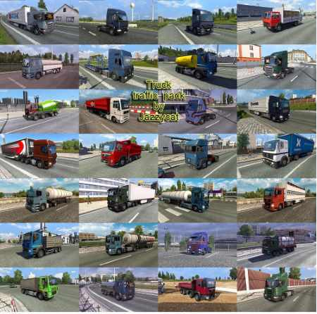 Truck Traffic Pack by Jazzycat v3.2