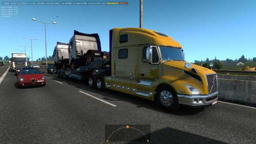 Volvo VNL 2018 in Traffic 1.32