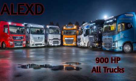 ALEXD 900 HP For All Trucks