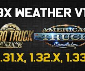 JBX Weather for ATS – ETS2 v1.4