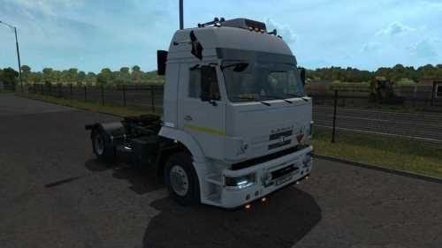 Kamaz 5360 53602 5480 6460-73 (Fixed for v1.33)