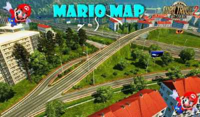 Mario Map v12.8 compatible with DLC Baltic 1.33