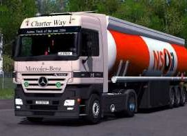 Mercedes Actros MP2 and MP3 sound update 1.33