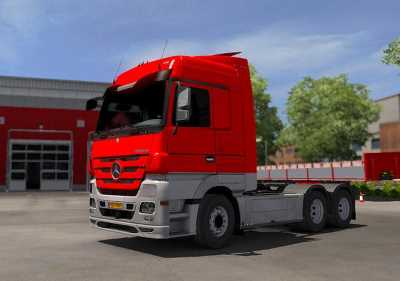 Mercedes MP3 – Paintjob PJ v0.2 – ETS2 1.33