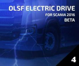 OLSF Electric Drive 4 for Scania 2016 1.33
