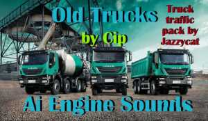 Old Trucks AI Engine Sounds for Jazzycat Truck Pack v3.2