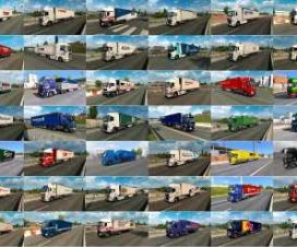 Painted Truck Traffic Pack by Jazzycat v6.9