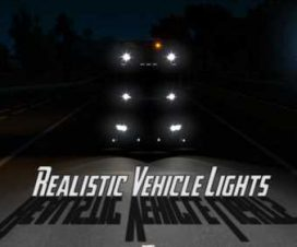Realistic Vehicle Lights v4.0 1.33
