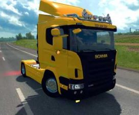 Scania R G P Cabin Pack