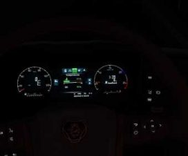 Scania S&R Dashboard Color White-Blue