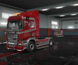 Scania Streamline Megatrans skin 1.33