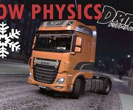 Snow physics mod