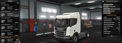 1000 HP for various Scania Trucks v1.1 1.33