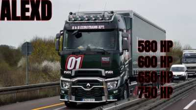 ALEXD Renault Range T New Engine 580-750HP v1.2