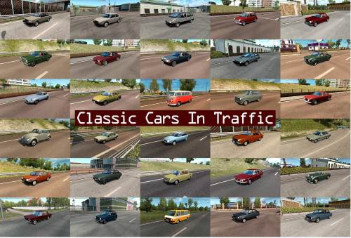 Classic Cars Traffic Pack by TrafficManiac v2.5