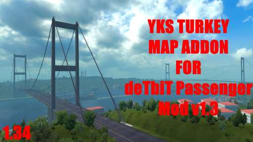 DeTbiT Bus Terminal – YKS Turkey Map Addon 1.34