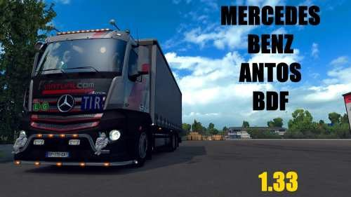 Dealer fix for D3S Mercedes Antos BDF 1.33