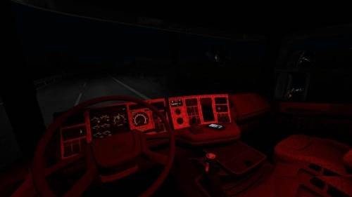 ETS2 Scania 124L interior
