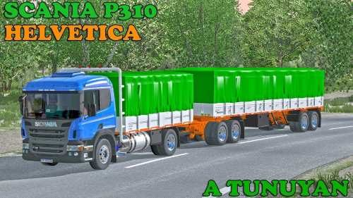 ETS2 Scania P 310 Argentino