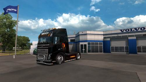 Ghost Rider for Volvo FH 2012 1.33