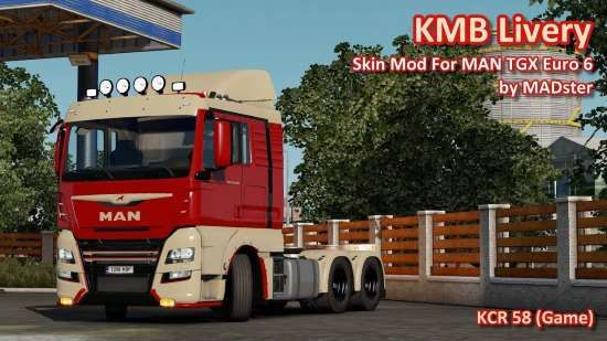 KMB Livery MAN TGX Euro 6 by MADster