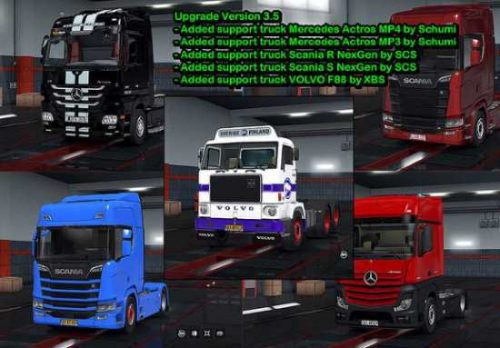 License Plate Pack for Modified Trucks 1.33