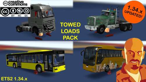 Loads pack for Crane Trucks ETS2 1.34