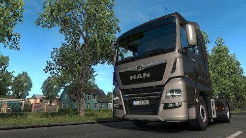 MAN TGX Euro 6 v2.2 patch 1.34