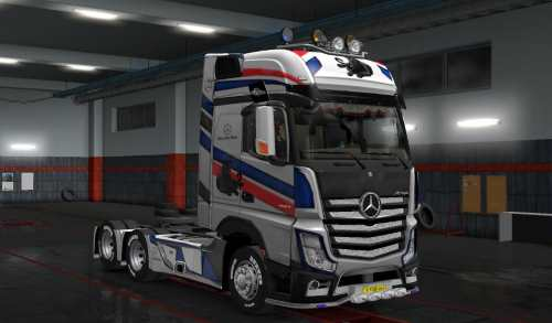 Mercedes Actors Mp4 Heavy Truck skin Panther Speed 4k