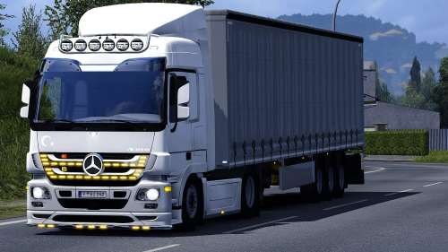 Mercedes Actros 2009 Share 1.33