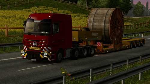 Mercedes Actros MP3 Reworked v2.7 [Schumi] 1.33