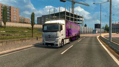 Mercedes Actros MP4 Reworked v1.7 Schumi 1.33