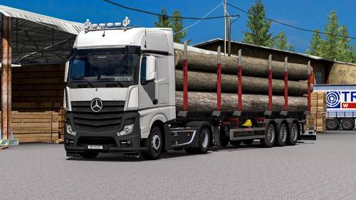 Mercedes Actros MP4 Reworked v1.8