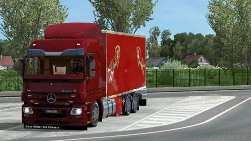 Mercedes Benz Actros Thermo Truck 1.33-1.34