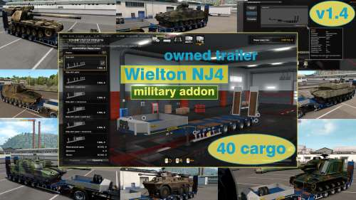 Military Addon for Ownable Trailer Wielton NJ4 v1.4