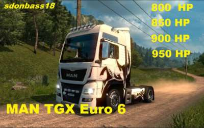 New engines for MAN TGX Euro 6