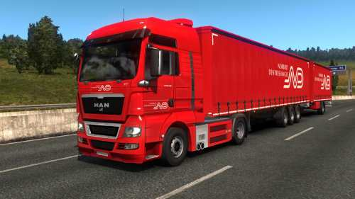 Norbert Dentressangle Paintjob Pack 1.33