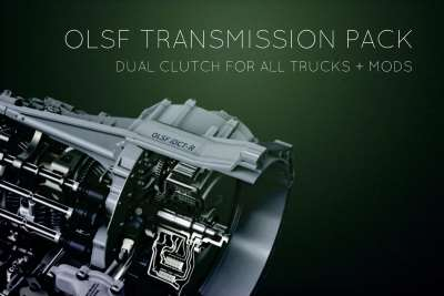 OLSF Dual Clutch Transmission Pack 10 all Trucks + mods 1.34