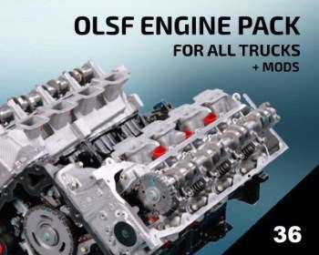 OLSF Engine Pack 36 all Trucks 1.34