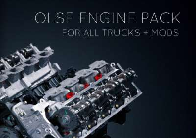 OLSF Engine Pack 38 all Trucks + mods 1.34