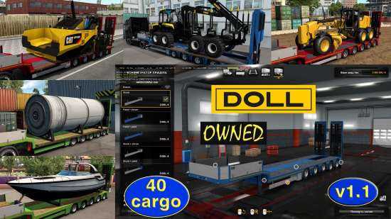 Ownable overweight trailer Doll Panther v1.1