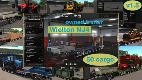 Ownable overweight trailer Wielton NJ4 v1.5